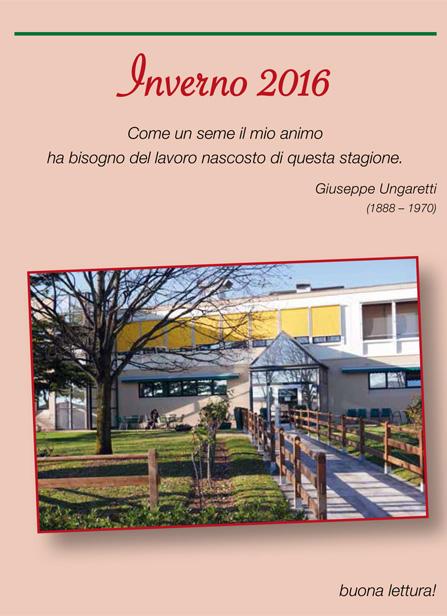 Il giornalino dello Zerbato, casa di riposo e RSA a Tregnago VR