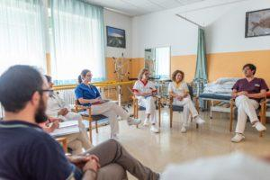 RSA Riunione di Equipe in Palestra Fisioterapia