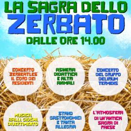 DOMENICA 23 GIUGNO: Torna la SAGRA DELLO ZERBATO!!
