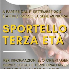 SPORTELLO TERZA ETÀ