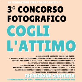3° CONCORSO FOTOGRAFICO – COGLI L'ATTIMO