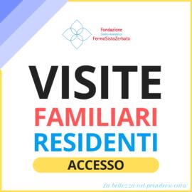 Visite residenti / familiari – aggiornamento luglio 2021