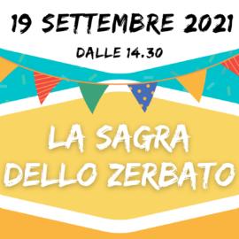19 settembre: LA SAGRA DELLO ZERBATO